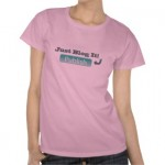 Show your blogging pride with a new t-shirt!