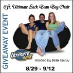BLOGGERS WANTED: 6 Foot Plush Ultimate Sack GIVEAWAY EVENT ~ Sign Up Now!