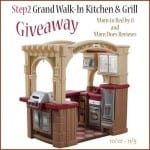 Step 2 Grand Kitchen Giveaway Ends 11-5