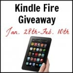 Kindle Fire Giveaway Ends February 10th