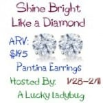 Win Pantina Diamond Earrings ends 2-11