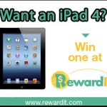 Enter To Win An iPad4 In This Easy Giveaway!