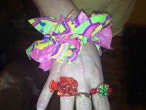 The Rings And Bracelet Gracie Made Me For Mother's Day
