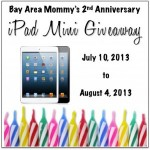 Win an iPad Min ends 8-4