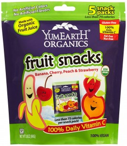 YumEarth Organics Fruit Snacks 3.5oz