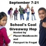Win $25 Paypal in Schools Cool Giveaway Hop!