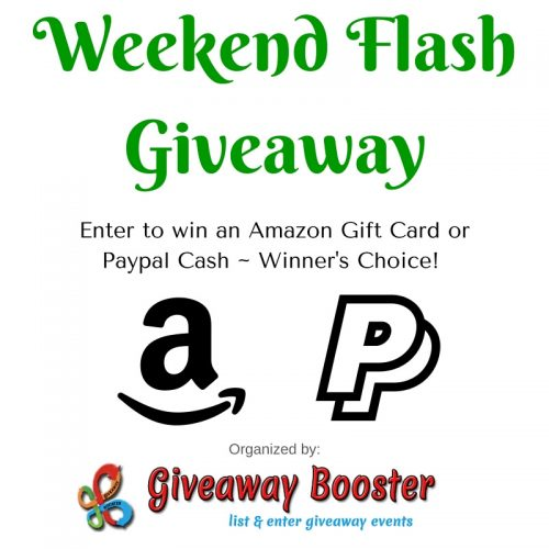 amazon or paypal giveaway