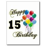 Today… is the actual birthday :)
