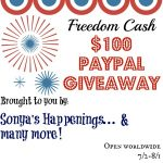 Let Freedom Ring!  Enter To #Win $100 In The Freedom Cash #Giveaway- Ends 8-1