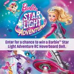 Enter To #Win The Barbie™ Star Light Adventure – RC Hoverboard #Sweepstakes (4 to be given away)