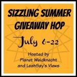 It's Time For The Sizzling Summer #Giveaway Hop- #Win A $25 GC~ Ends 7-22