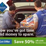 Sign Up For Sam's Club NOW And Get Half Off Their $45 Membership~