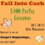 I'm Falling For The $100 PayPal #Giveaway- Ends 10-31 #Win