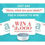 Enter To #Win Up To $2000 Amazon GC's – #Sweepstakes Ends 11-30