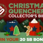 If you can collect all the Christmas collector bills, you get a SB bonus!
