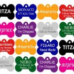 With 4 dogs- We constantly lose our dog tags- Order These for only $2.75 (free shipping)