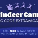 Oh The Reindeer Games!  Swag Codes Extravaganza – I LOVE Swagbucks~