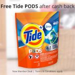 Get Tide PODS Freebie Cashback At TopCashBack~ Ends 12-22