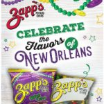 Enter To #Win A Trip To New Orleans in Zapp's Mardi Gras ~ #Sweepstakes #Ends 2-28