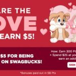 Sign Up For @Swagbucks In February And Receive $5