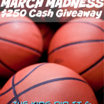 Do You Feel It?  It's March Madness AND You Could #Win $250 Amazon Or PayPal In This #Giveaway~  Ends 4-3