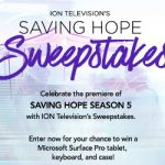 Enter To #Win a Microsoft Surface Pro 3 from ION Saving Hope #Sweepstakes Ends 3-26