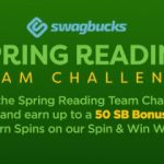 Are You Up For A CHALLENGE?  Join The Swagbucks Spring Reading Team Challenge!