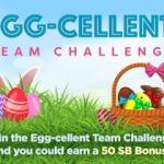 Easter Brings On An Egg-cellent Team Challenge At @Swagbucks!