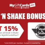 MyGiftCardsPlus, Steak 'N Shake And @Swagbucks-  It's A Winner~