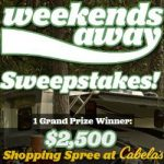 Enter To #Win a $2,500 Cabela's Shopping Spree – #Sweepstakes Ends 9-30