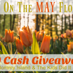 Bring On The May Flowers And #Win $200- #Giveaway Ends 5-22