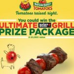 Enter To #Win a Weber Grill, Smoker & Portable Cart from NatureSweet – #Sweeps Ends 7-8