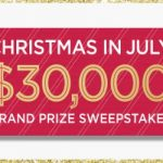Enter To #Win 100's of Prizes in the QVC Christmas in July #Sweepstakes (Grand Prize $30,000) – Ends 7-31