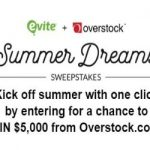 Enter To #Win a $5,000 Overstock Gift Card – #Sweepstakes Ends 7-9