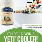 Wow 3 #Winners~ Enter To #Win Yeti Coolers in the Litehouse Foods Coleslaw #Sweepstakes – Ends 7-8