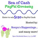 Wowzer!  #Win $150 In The Sea Of Cash #Giveaway – Ends 7-31