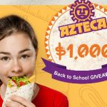 Enter To #Win $1,000 for Back to School Shopping & Azteca Swag Bags ~  #Sweeps Ends 9-1