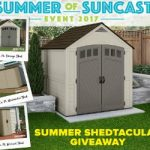 Enter To #Win a New @SuncastCorp Storage Shed – #Sweepstakes Ends 8-24