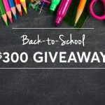 Enter To #Win a $300 Visa Gift Card for Back to School Shopping – #Sweeps Ends 8-31