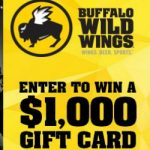 Enter To #Win a $1000 American Express Gift Card from Buffalo Wild Wings – #Sweeps Ends 9-24