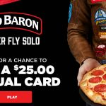 Enter To #Win $25 Gift Cards in the Red Baron Pizza Instant Win Game ~ Sweeps Ends 9-19
