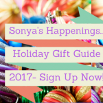 2017 Holiday Gift Guide Sign Up At Sonya's Happenings…