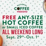 It's National Coffee Day! Grab Some #Free Coffee Today~