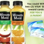 Enter To #Win 1 of 110 Gift Cards Instantly from Minute Maid #doingood – #Sweeps Ends 10-27