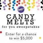 Enter To #Win up to $5000 in the Wilton Candy Melts for You #Sweepstakes ~ Ends 12-31