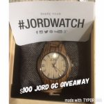 Jord Watch- Fieldcrest Series (I'm In Love With This Watch) Review/#Giveaway- Ends 12-1