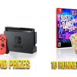 Enter To #Win a Nintendo Switch, Just Dance Game & Dippin' Dots Delivery  ~ #Sweeps