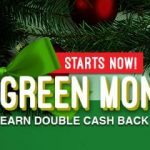 Huge Cash Back deals during the Swagbucks Green Monday Sale!