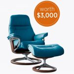 Enter To #Win a Leather Recliner And Ottoman Worth $3000 ~ #Sweeps Ends 3-19