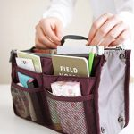 Do you need your #purse more #organized?  Check out this purse organizer!